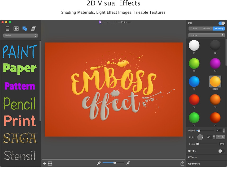 Effects for Logo Design
