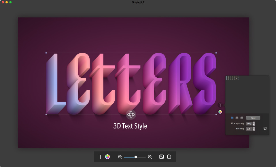 Letters — Text Styles and Effects You Will Ever Need
