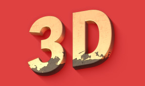 Create 3D text on a Mac